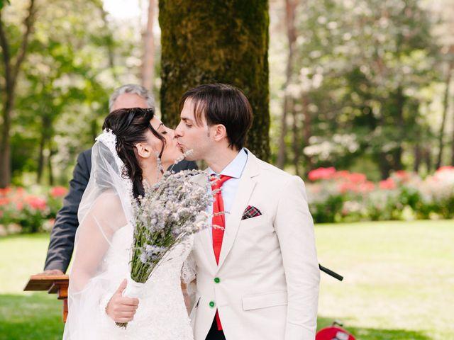 Il matrimonio di Andrea e Maria Cristina a Golasecca, Varese 33
