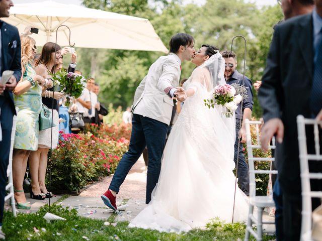Il matrimonio di Andrea e Maria Cristina a Golasecca, Varese 34