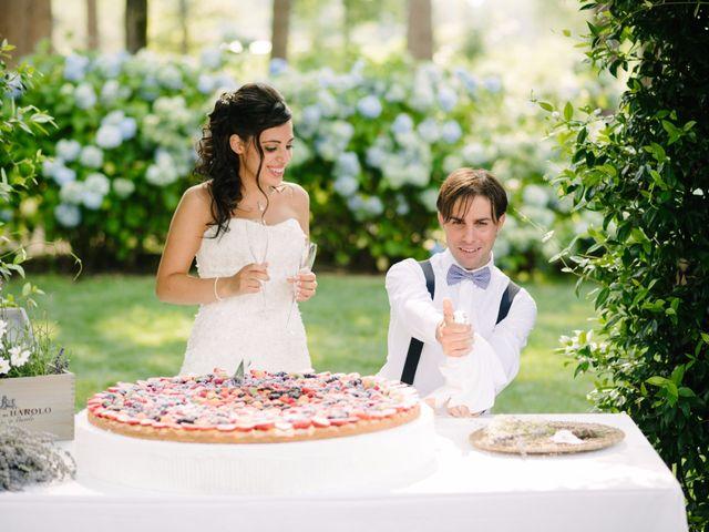 Il matrimonio di Andrea e Maria Cristina a Golasecca, Varese 49