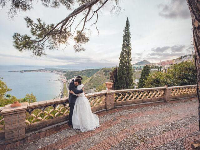 Il matrimonio di Corrado e Emma a Taormina, Messina 1