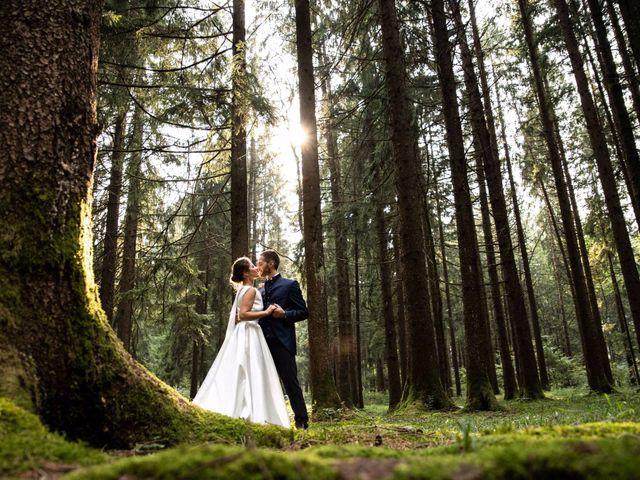 Le nozze di Greta e Luciano