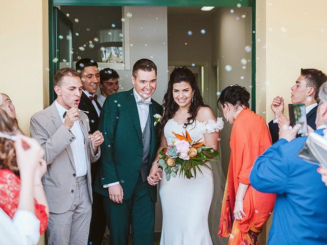 Il matrimonio di Michael e Morgana a Fossombrone, Pesaro - Urbino 15
