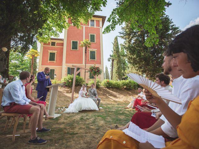 Il matrimonio di Valentin e Violette a Castiglione del Lago, Perugia 19