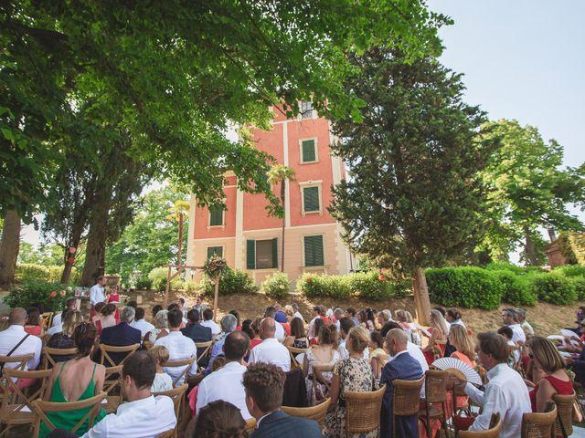 Il matrimonio di Valentin e Violette a Castiglione del Lago, Perugia 1