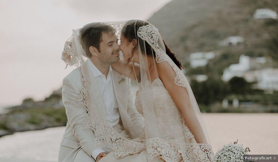 Il matrimonio di Gianmarco e Giorgia a Santa Marina Salina, Messina
