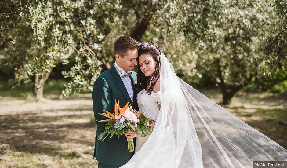 Il matrimonio di Michael e Morgana a Fossombrone, Pesaro - Urbino