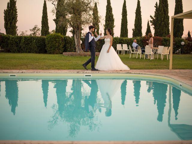 Il matrimonio di Diego e Ilaria a Cascina, Pisa 84