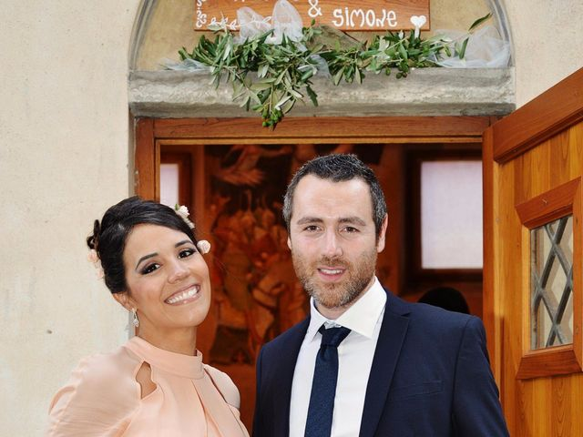 Il matrimonio di Simone e Amarylis a Serravalle Pistoiese, Pistoia 24