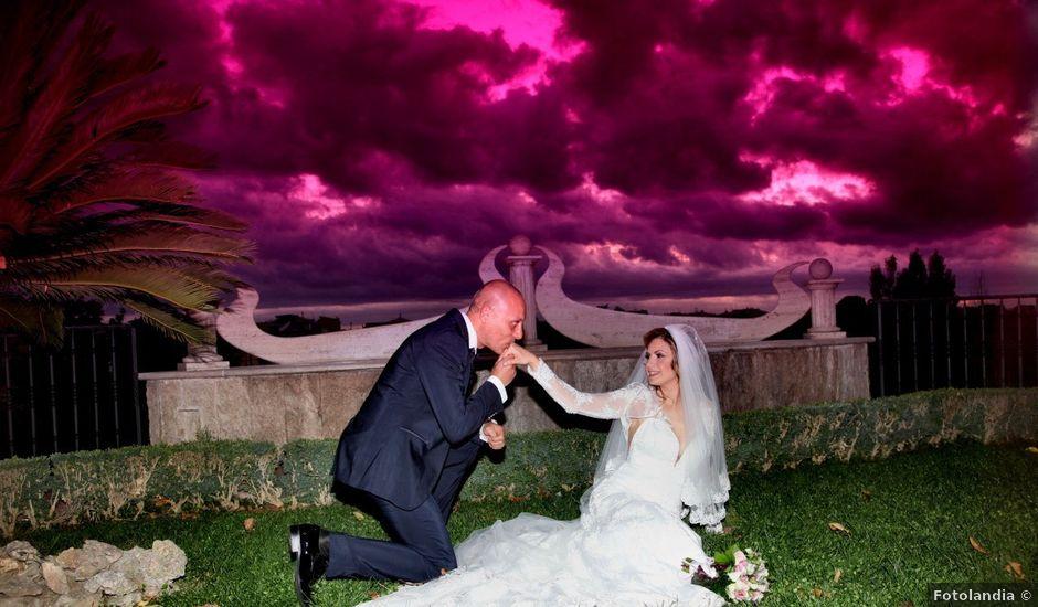 Il matrimonio di Fabio e Tatiana a Roma, Roma