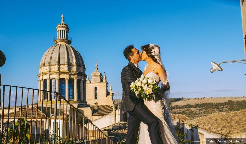 Il matrimonio di Christian e Sebastiana a Ragusa, Ragusa
