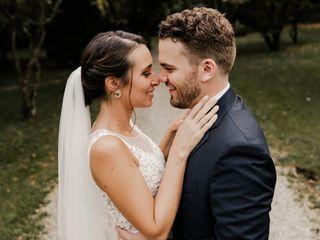 Le nozze di Noemi e Cristiano