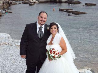 Le nozze di Alberto e Luana