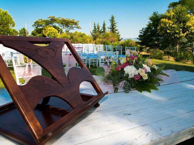Il matrimonio di Michele e Letizia a Saludecio, Rimini 15