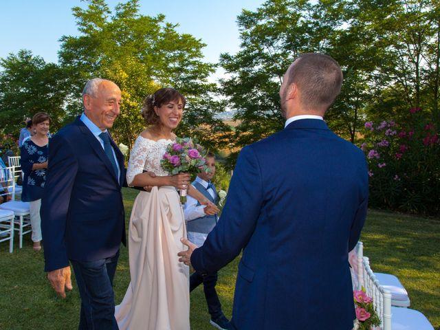 Il matrimonio di Michele e Letizia a Saludecio, Rimini 35