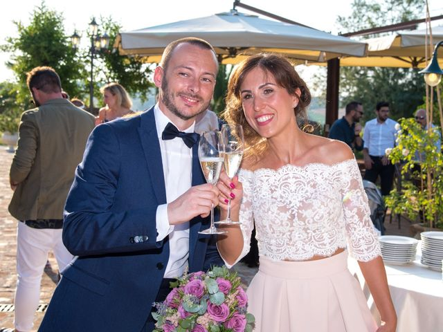 Il matrimonio di Michele e Letizia a Saludecio, Rimini 83