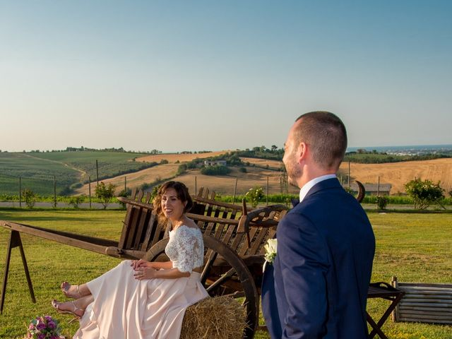 Il matrimonio di Michele e Letizia a Saludecio, Rimini 93
