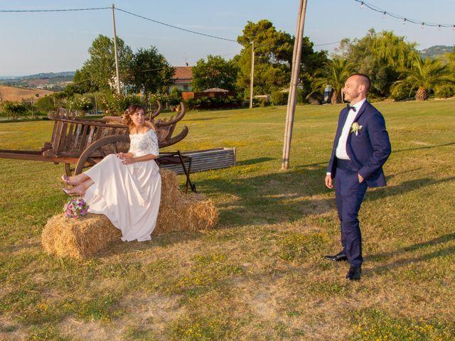 Il matrimonio di Michele e Letizia a Saludecio, Rimini 94