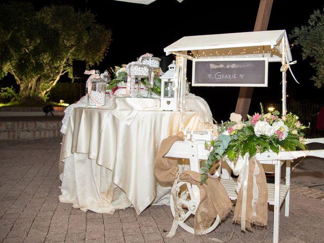 Il matrimonio di Michele e Letizia a Saludecio, Rimini 124
