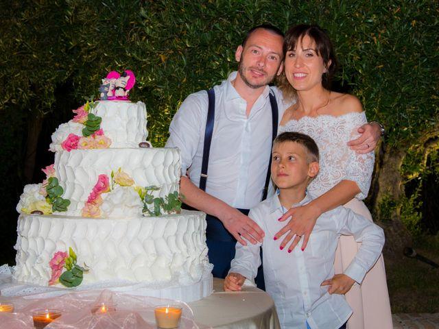 Il matrimonio di Michele e Letizia a Saludecio, Rimini 127