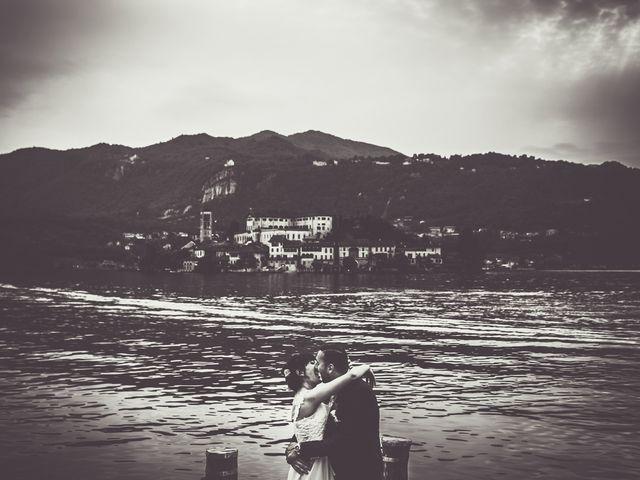 Il matrimonio di Cristian e Anna a Orta San Giulio, Novara 63
