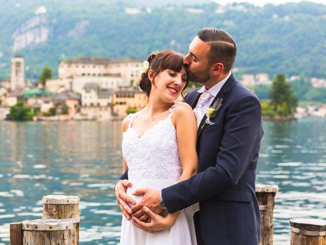 Il matrimonio di Cristian e Anna a Orta San Giulio, Novara 67