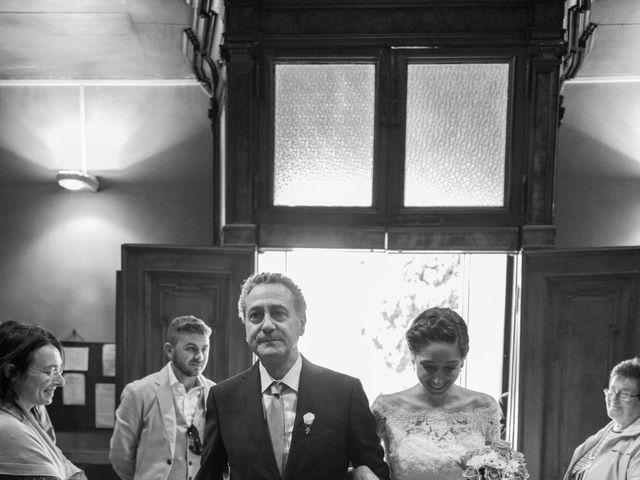 Il matrimonio di Filippo e Ilaria a Proserpio, Como 10
