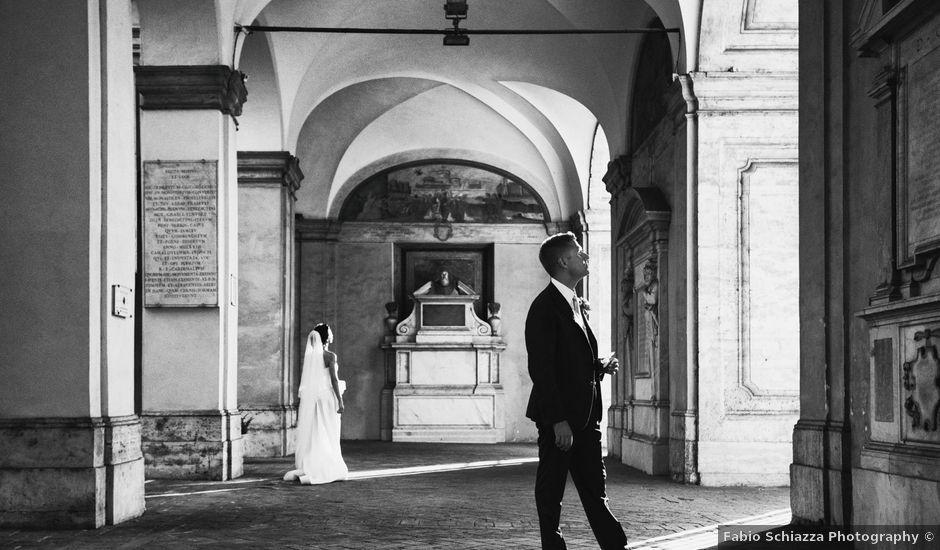 Il matrimonio di Paolo e Paola a Roma, Roma