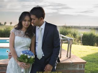 Le nozze di Katherine e Mac Jessal