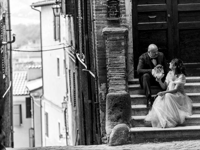 Il matrimonio di Andrea e Giada a Serra de' Conti, Ancona 42