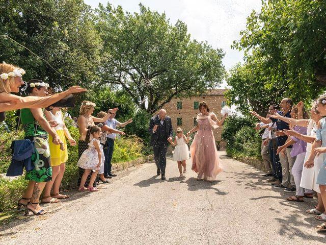 Il matrimonio di Andrea e Giada a Serra de' Conti, Ancona 73