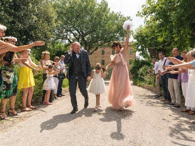 Il matrimonio di Andrea e Giada a Serra de' Conti, Ancona 74