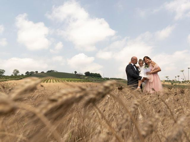 Il matrimonio di Andrea e Giada a Serra de' Conti, Ancona 77