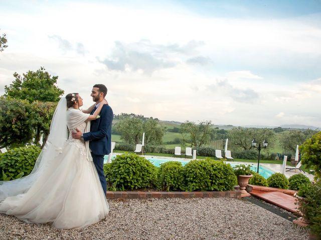 Il matrimonio di Salvatore e Rita a Montepulciano, Siena 17