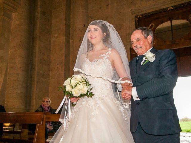 Il matrimonio di Salvatore e Rita a Montepulciano, Siena 19