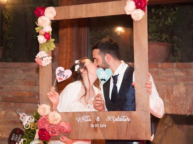 Il matrimonio di Salvatore e Rita a Montepulciano, Siena 31