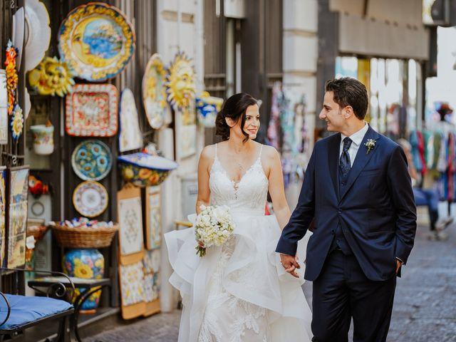 Il matrimonio di Rossella e Giuseppe a Vietri sul Mare, Salerno 30