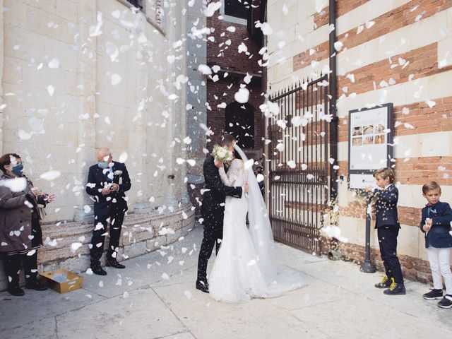 Il matrimonio di Enrico e Enrica a Verona, Verona 28