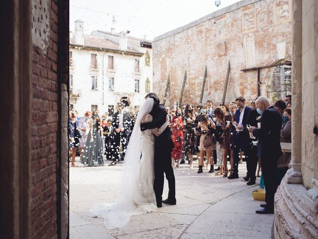 Il matrimonio di Enrico e Enrica a Verona, Verona 29