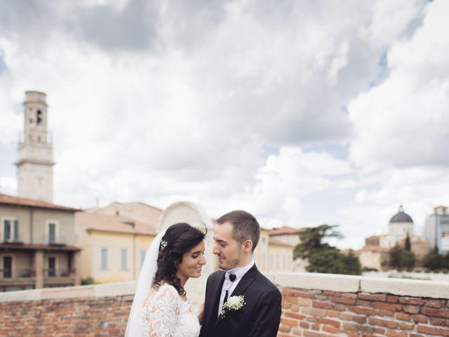 Il matrimonio di Enrico e Enrica a Verona, Verona 41