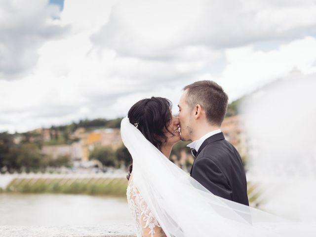 Il matrimonio di Enrico e Enrica a Verona, Verona 42