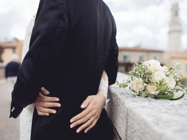 Il matrimonio di Enrico e Enrica a Verona, Verona 44