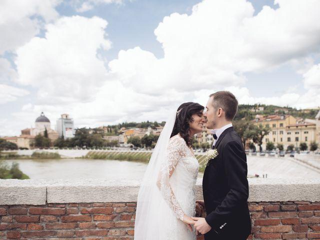 Il matrimonio di Enrico e Enrica a Verona, Verona 47
