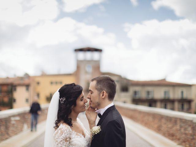 Il matrimonio di Enrico e Enrica a Verona, Verona 48