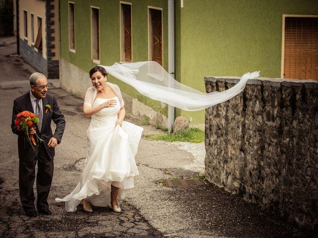 Il matrimonio di Luca e Valentina a Uggiate -Trevano, Como 21