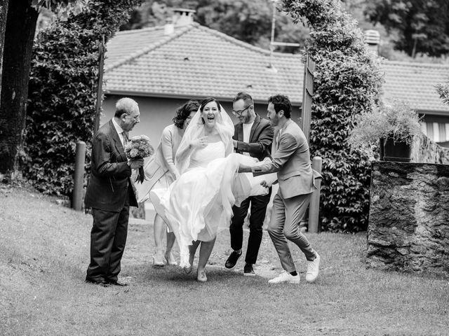 Il matrimonio di Luca e Valentina a Uggiate -Trevano, Como 22