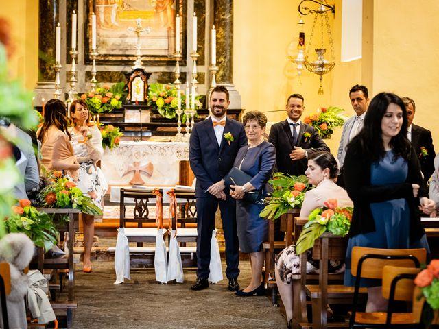 Il matrimonio di Luca e Valentina a Uggiate -Trevano, Como 23