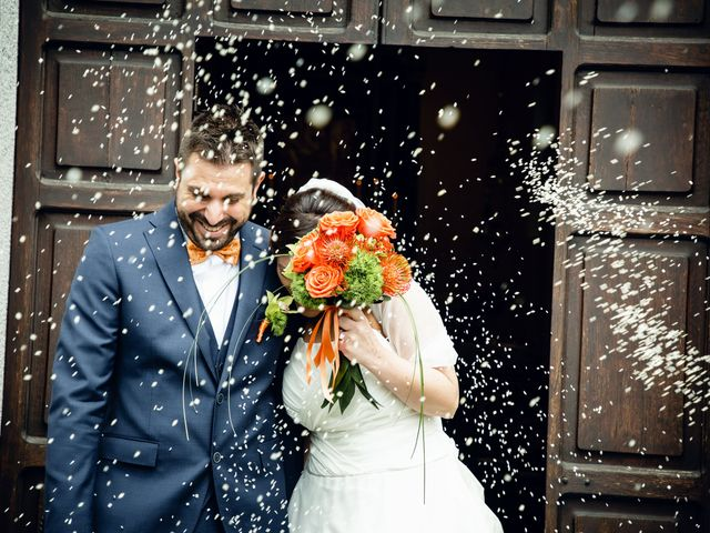 Il matrimonio di Luca e Valentina a Uggiate -Trevano, Como 38