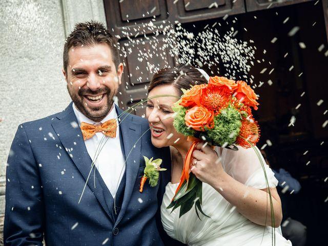 Il matrimonio di Luca e Valentina a Uggiate -Trevano, Como 39