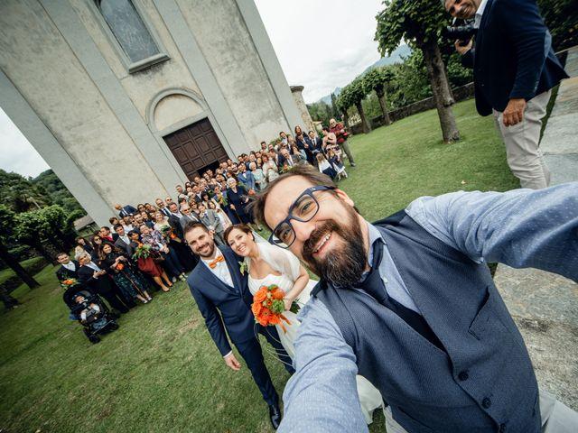 Il matrimonio di Luca e Valentina a Uggiate -Trevano, Como 42