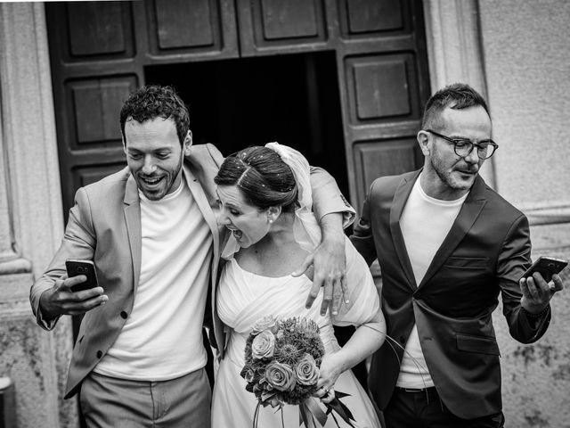Il matrimonio di Luca e Valentina a Uggiate -Trevano, Como 43